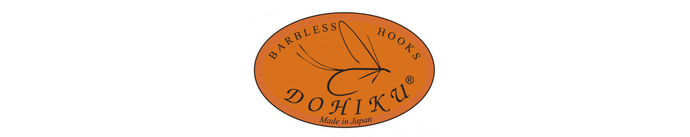 Fly Hooks DOHIKU barbless